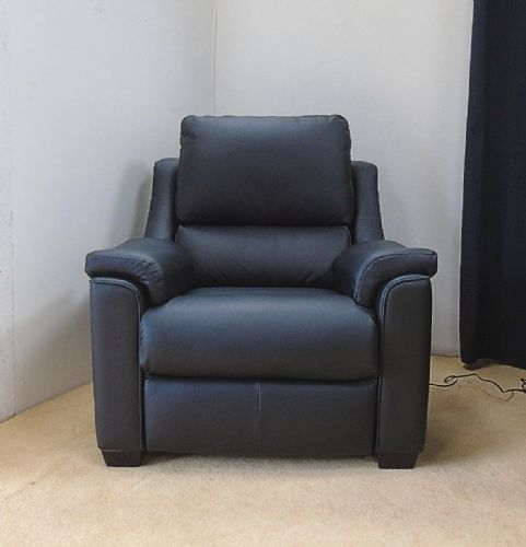 Albany Leather Electric Reclining Armchair